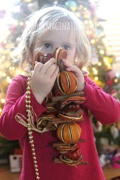 Christmas Sensory Treasure Basket from The Imagination Tree
