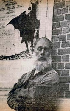 Edward Gorey (fun queer trivia fact: he and Frank O'Hara were college roommates at Harvard).