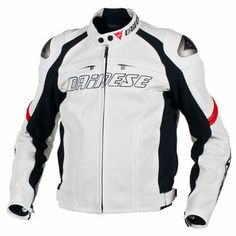 Dainese Racing Perforated Leather Jacket - RevZilla