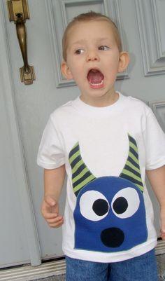 Ezeeke The Monster Boys Custom Applique Tshirt $22