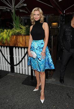 Rachel Riley Countdown, Rachael Riley, Lace Skirt, Sequin Skirt, Manchester United Players, Book Launch, Launch Party, Self Esteem, Awards