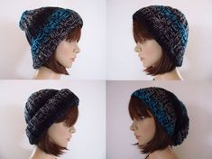 Knitted Hats, Crochet Hats, Beanie, Detail, Knitting, Style, Fashion, Ribs, Moda