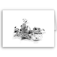 Silver Christmas Card for you at www.zazzle.com/superdumb