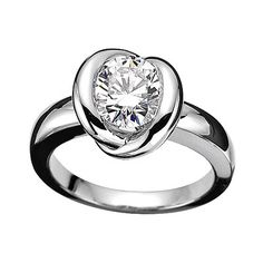 Mauboussin Diamond and White Gold Engagement Ring