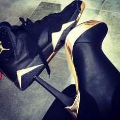 Black gold Jordan's