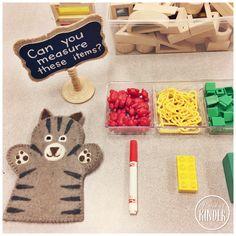 Five for Friday: January 27 - A Pinch of Kinder Measurement Kindergarten, Measurement Activities, Math Activities For Kids, Numbers Kindergarten, Math Measurement, Math For Kids, Math Classroom, Fun Math, Preschool Activities