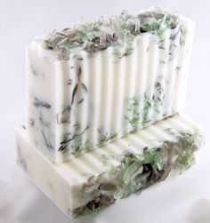 Handmade Glycerin Soap - Energizing Walk in the Park. $5.00, via Etsy.
