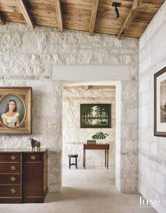 Texas Hill Country Home Features A Bit Of History - Luxe Interiors + Design