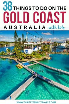 Gold Coast Family Holidays Guide: Things to do on the Gold Coat with kids, where to stay, getting around & discount tickets for Gold Coast theme parks.