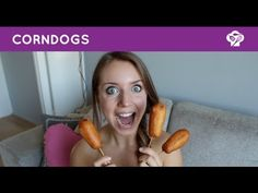 ▶ FOODGLOSS - Corndogs - YouTube