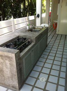 12 ไอเดีย ต่อเติมครัวนอกบ้าน ที่ระบายอากาศได้ดี เหมาะกับประกอบอาหารไทย | iHome108