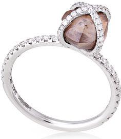 Embrace Rough Diamond Engagement Ring ORW1020PDW8 3.01X5 | Diamond in the Rough - The Original Diamond
