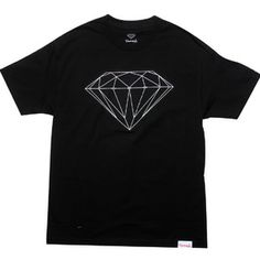 Diamond Supply Co Big Brilliant Tee (black) Apparel FA2BBTBLK | PickYourShoes.com ($30.00) - Svpply