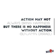 I've said it once and I'll say it again: Action is Everything