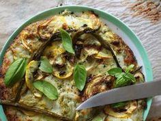 Pizza verte aux pesto, courgettes & asperges