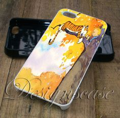 Calvin and Hobbes - iPhone 6/6S 5/5S 5C Cases Samsung Galaxy S4 S5 S6 Edge Cases