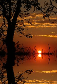 Flood Sunset by Alejandro Miranda Lines on 500px.com