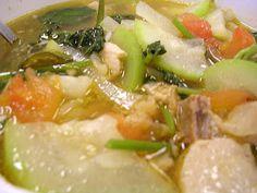 "KAUKAU TIME!--""Kaukau"" is a Hawaiian pidgin slang word meaning ""food"" or ""to eat."": Pork Sarisari (Pork with Mixed Vegetables)"