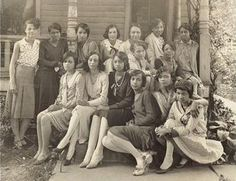 Alpha Kappa Alpha @ Univ. of Kansas 1917