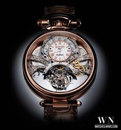 Front and...front view of the BOVET - Amadeo Fleurier Braveheart by www.watches-news.com #Watch