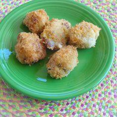 Loaded Mashed Potato Bites #easyrecipe #Thanksgiving #leftovers