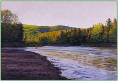 Twilight Fishing, Cascapedia.  Galen Mercer