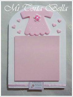 Portanotas para Baby Shower / Bautismo