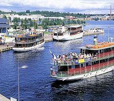 Kuopion matkustajasataman sisävesiristeilijät. Finland, City, Places, Nature, Travel, Naturaleza, Viajes, Cities, Destinations