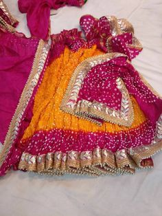 Discover thousands of images about Rajasthani Bandhani Saree Indian Saree Traditional Saree Handmade Indian Silk Bandhej Saree Handmade Gota Patti Work Pink & yellow color saree Lace Saree, Saree Dress, Bandhini Saree, Bandhani Dress, Rajasthani Dress, Bridal Mehndi Dresses, Wedding Saree Collection, Yellow Saree, Indian Designer Outfits