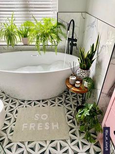 Chickidee So Fresh Cotton Bath Mat - Trouva New Bathroom Ideas, Bathroom Inspiration, Small Bathroom, Upstairs Bathrooms, Bathroom Toilets, Bathroom Interior Design, Cozy House, Home Deco, Bath Mat