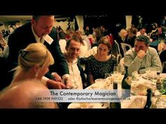 Watch as our sleight of hand magician thrills and excites guests at various weddings across the UK.