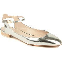www.chloe.com, CHLOE Angel leather pumps (Silver), bride, bridal, wedding, wedding shoes, bridal shoes, luxury shoes, haute couture