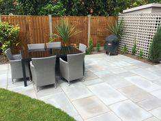 Shadow Sawn & Smooth Grey Indian Sandstone