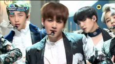 161013 엠카운트다운 방탄소년단(BTS) - 피 땀 눈물 by플로라