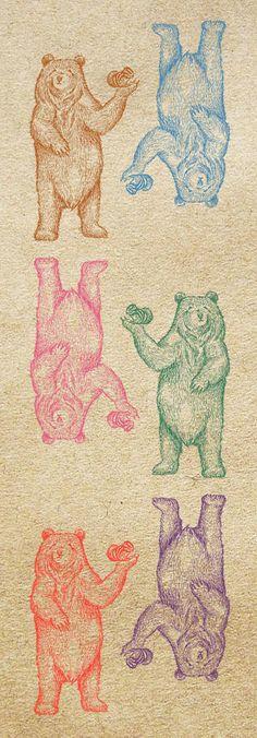 Orie's art【Friendly bear / やさしいくま】#bearillust #design #動物イラスト #くまイラスト #bear #イラスト #デザイン #イラスト #細密画 #絵 #おしゃれイラスト Rugs, Illustration, Home Decor, Farmhouse Rugs, Decoration Home, Room Decor, Illustrations, Home Interior Design, Rug