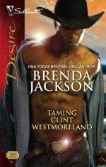 Taming Clint Westmoreland by Brenda Jackson #HarlequinBooks #HarlequinDesire