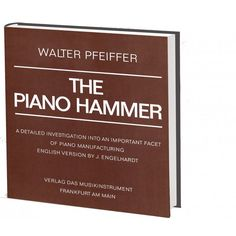 The Piano Hammer, 16,00 €
