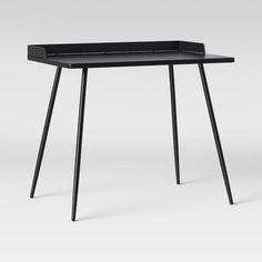 Windsor Kids Metal Desk Black - Pillowfort™ : Target Furniture Logo, Kids Furniture, Fuzzy Bean Bag Chair, Teepee Kids, Metal Desks, Black Desk, Drafting Desk, Windsor, Boudoir