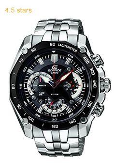 Casio Edifice Chronograph Black Dial Mens Watch  EF-550D-1AVDF (ED390)