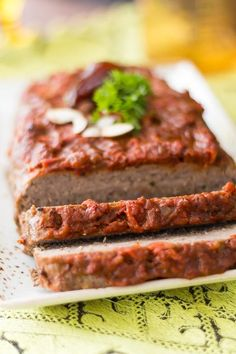 4 Points About Vintage And Standard Elizabethan Cooking Recipes! Easy Meatloaf Recipe With The Exotic Flavors Of Moroccan Date Sauce. The Date Sauce And Creme Fraiche Keep This Easy Meatloaf Very Moist And Delicious. Easy Meatloaf, Meatloaf Recipes, Meat Recipes, Gourmet Recipes, Real Food Recipes, Cooking Recipes, Food And Thought, Moroccan Spices, Meat Loaf Recipe Easy
