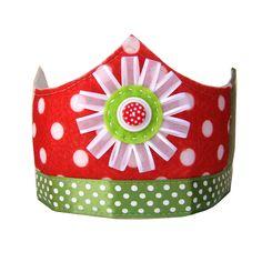 Christmas Cracker crown!
