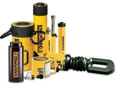 At Hi-Press Hydraulics, we carry a comprehensive range of Enerpac hydraulic products and industrial tools. If you use Enerpac's cylinders, tools, and pumps, then our hydraulic system components will be the perfect solution. Our supply and service helps make your work more efficient, safer and easier. Get the Enerpac's wide range of tools for lifting, cutting, pressing, work-holding, pulling, bolting, and more. Hydraulic Cylinder, Hydraulic Pump, Hydraulic System, Butterfly Valve, Lifted Cars, Control Valves, Pumping, Outdoor Power Equipment, Bending