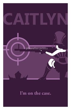 Caitlyn: League of Legends Print by pharafax on Etsy