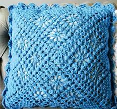 Вяжем подушки своими руками. Вязание крючком.