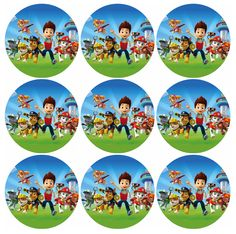 Free Printable Toppers of Paw Patrol. Paw Patrol Cupcake Toppers, Paw Patrol Cupcakes, Cupcake Toppers Free, Paw Patrol Cake, Paw Patrol Birthday, Paw Patrol Png, Imprimibles Paw Patrol, Paw Patrol Party Decorations, Cumple Paw Patrol