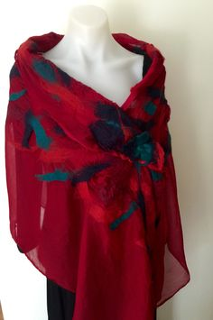 A personal favourite from my Etsy shop https://www.etsy.com/au/listing/491280071/reversible-large-sized-wrap-wool-nuno