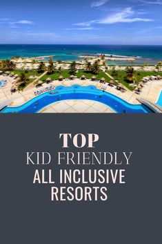 Wanting an all-inclusive vacation experience, but bringing your kids along? We've compiled the best all inclusive resorts that are kid friendly. Beach Vacation Spots, All Inclusive Vacation Packages, Best All Inclusive Resorts, Vacations To Go, Family Resorts, Family Vacation Destinations, Romantic Vacations, Vacation Trips, Fun Vacations For Kids