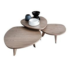 51 id es de table basse d co pour votre salon salons - Tables basses gigognes ...