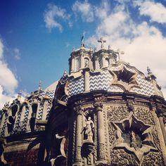 Iglesia del pocito. Basílica de Guadalupe. México DF.