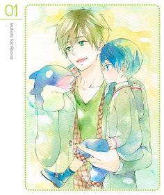Free! Iwatobi Swim Club -Makoto and Haru